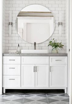 14 Reasons to Use Concrete Countertops in Your Bathroom on http://domino.com