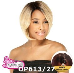 Freetress Equal Deep Invisible Part PreCut Lace Front Wig ASHLY OMRD -- For more information, visit image link.(This is an Amazon affiliate link and I receive a commission for the sales)