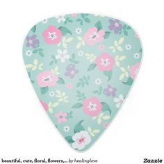 beautiful, cute, floral, flowers, girly, mint, pin