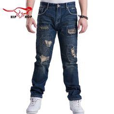 28df96aa98e Hip Hop Design Ripped Jeans. Ripped Jeans MenMens Casual JeansJeans  DenimSkinny JeansJeans HommesKorean StyleStyle FashionWhite ...