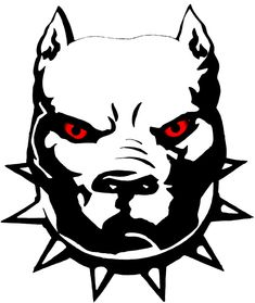 Pitbull with Red Eyes Sticker, Love a Bull Pitbull Sticker, Oval Pitbull Tattoo, Pitbull Drawing, Bull Tattoos, Bulldog Mascot, Tribal Animals, Desenho Tattoo, Dog Logo, Chicano Art, Art Drawings Sketches