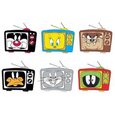 Sylvester The Cat, Looney Tunes Characters, Thats All Folks, Marvin The Martian, Tasmanian Devil, Daffy Duck, Bugs Bunny, Candy Shop, Disney Animation