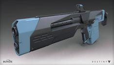 ArtStation - Destiny - The Taken King - Jade Rabbit Scout Rifle, Mark Van Haitsma