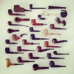 Smoke. Pipes