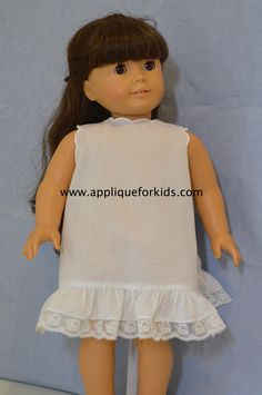 WHITE Scallop Socks w//Dainty Flowers Doll Clothes For Bitty Baby Girl Debs