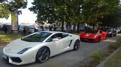 Cars and Coffee Biella 2016 at Top Gear IT base - 1: over 180 supercars ...
