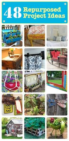 48 DIY Repurposed Project Ideas — by Carolyn Robertson