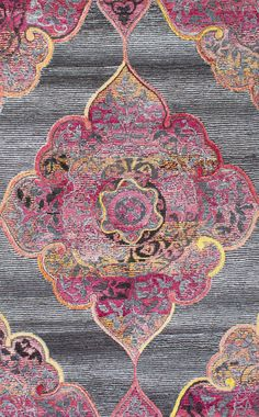 The hand-tufted, transitional medallion rug will be the perfect addition to your interiors, with a nice thickness and softness. Made of polyester, viscose and wool, this rug will sit snugly in various spaces of your décor.