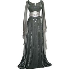 Annabelle's dress she wore at the reception for the Knights in Valiant