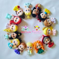 Image may contain: 3 people Polymer Clay Ornaments, Polymer Clay Figures, Polymer Clay Animals, Polymer Clay Dolls, Polymer Clay Charms, Polymer Clay Creations, Polymer Clay Princess, Polymer Clay Disney, Polymer Clay Kawaii