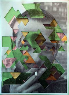 cut-out portraits by Lucas C. Simões This is a perfect Inspiration for the GCSE question on Disguises