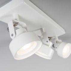 Spot Sqaar 3 länglich weiß #spot #strahler #deckenleuchte #deckenlampe #verstellbar #innenbeleuchtung #modern #rabatt