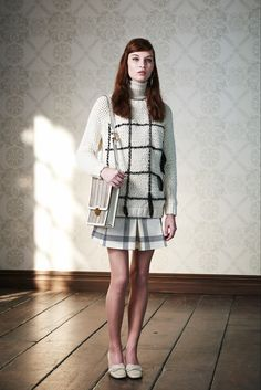 Tory Burch Pre-Fall 2015 - Collection - Gallery - Style.com  fringed stripes