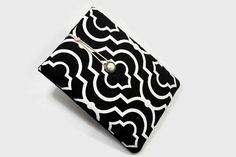Hand Crafted Tablet Case from Black and White by MyTabletCasePlace