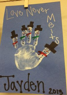 Snowman keepsake. Create the raw materials for a paper plate snowman and then let a toddler design their own version of a melting snowman.