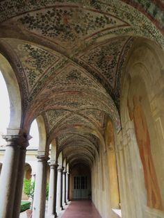 Galerie du jardin suspendu, Palais ducal, Mantoue, province de Mantoue, Lombardie, Italie.