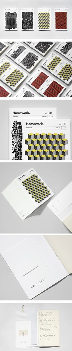 Homework Notebook by VIJITO. Each one comes with a pocket! | Sold Online…