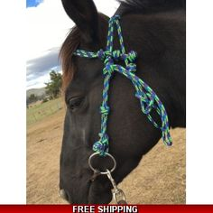 Soft Feel Rope Bridle