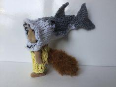 シルバニアファミリー  サメの帽子