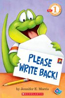 Please Write Back book - http://www.alfiethealligator.com/writeback.html