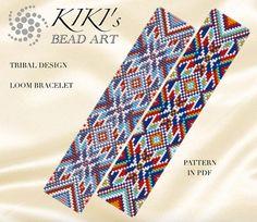 Bead loom pattern  Tribal design ethnic inspired LOOM