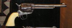 Wyatt Earp's Ivory-Handled Colt Cavalry Model Single Action Army Revolver