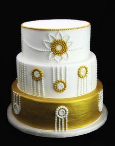 Art Deco Wedding Cake | Flickr - Photo Sharing!