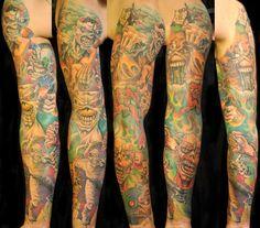 Virág Károly « Tattoo Art Project EDDIE - IRON MAIDEN