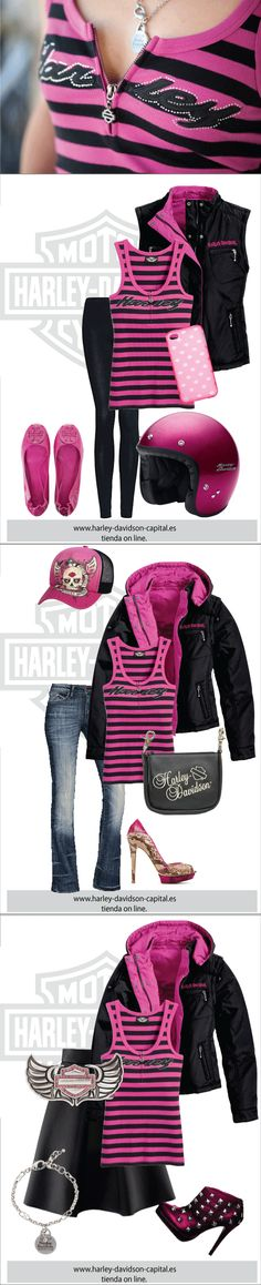 HARLEY-DAVIDSON STYLE | HARLEY-DAVIDSON OUTFIT | HARLEY-DAVIDSON LOOK |HARLEY-DAVIDSON BASIC | camiseta harley-davidson, gorra harley-davidosn, bolso harley-davidson, chaqueton harley-davidson, hebilla harley-davidson, pulsera harley-davidson