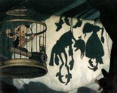 Pinocchio concept art - Gustaf Tenggren