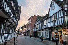 Diagon Alley, aka Worcester, Friar Street by Ruth Flickr, via Flickr