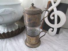 *FRANCE*URalte Teetasse mit Filter*TEE-SET*PATINA* von SUN-SHI auf DaWanda.com