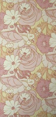 Bella Donna 2 | Vintage Flower Wallpaper | Johnny-Tapete