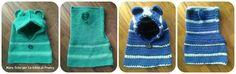 Scaldacollo in lana con cappuccio ed orecchie per mamma e bimbo 👩👶