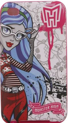 Monster High Phone Case/Skin/Cover iPod Touch 4 Ghoulia Yelps ~New in Box~ #MonsterHighbyMattel