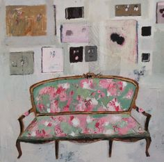 mixed media on paper, 70 x 70 cm. £750 by Charlotte Hardy