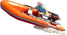 Saturn 13 ft Red Inflatable Boat >>> You can find out more details at the link of the image. Small Fishing Boats, Small Boats, Inflatable Kayak, Fishing Videos, Dinghy, Speed Boats, Open Water, Jet Ski, Motor Boats