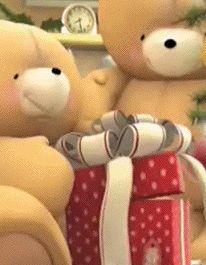 Spring Summer Fall Winter each Season brings its own magic Tatty Teddy, Hello Kitty Christmas, Christmas Star, Christmas Greetings, Cute Teddy Bear Pics, Teddy Bear Pictures, Xmas Gif, Love Bear, Gif Animé