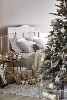 Decoración navideña para dormitorios