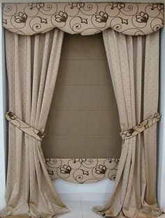 1000 images about cortinas on pinterest curtains - Tipos de cortinas modernas ...