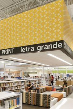 The fabric! McAllen Main Library / Meyer Scherer & Rockcastle
