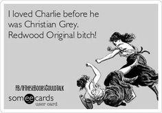 Charlie Hunnam  ...SOA!  Bitch!