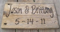 save the date sign for pictures