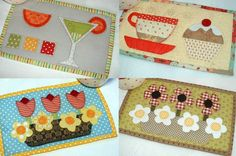 (7) Name: 'Quilting : Special Days Mug Rugs Booklet