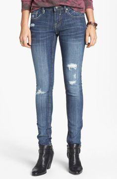 508795442a Nordstrom Vigoss Destroyed Skinny Jeans Medium Juniors Jeans For Sale