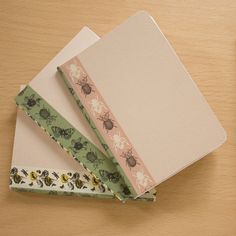 Learn a simple bookbinding technique to create your own notebooks or sketchbooks! I always carry a notebook or sketchbook with me and when I was at art college I often made my own. In fact a lot of my artwork