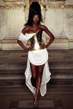 Givenchy 1997 The Walk, The Body The Attitude NAOMI!! #supermodel