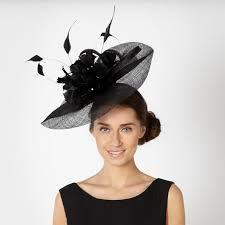 83b0ffbd936 Star by Julien Macdonald Designer black feather wave headband fascinator-  at Debenhams Mobile