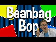 The Beanbag Bop is a great way to practice directional words. Bop your beanbag to the positional words and spatial concepts. Bop your beanbag up, down, side . Preschool Movement Activities, Preschool Music, Music Activities, Work Activities, Motor Activities, Preschool Ideas, Physical Activities, Silly Songs, Kids Songs