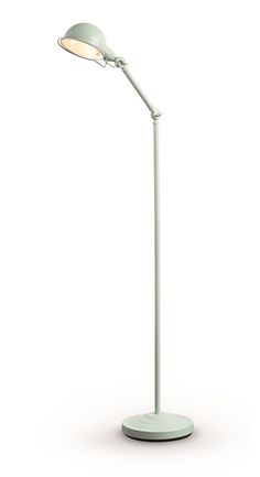 Jenkins Floor Lamp, in Duck Egg Blue. Sleek, versatile lighting. £59. MADE.COM